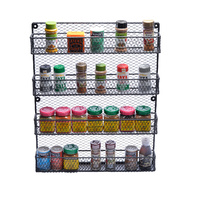 Kitchen Pantry BLACK Wire Spice Rack
