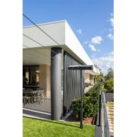 Retractable Clothesline - Wall Mounted  4 Lines 28m