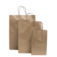 Brown Craft Paper Bags Packs of 50