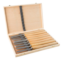Wood Turning Chisel Set - (8 pieces)