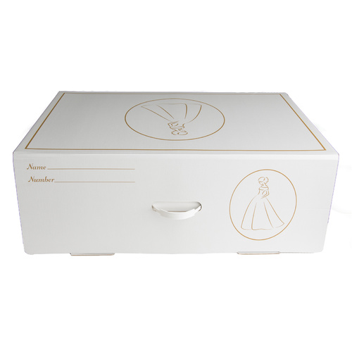 Wedding Dress Storage Box White - Large